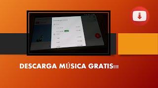 Mejor aplicación para descargar música Gratis!