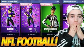 NEUE NFL FOOTBALL SKINS SIND DA! 🔥🏈 NFL-OUTFITS - France NEUES UPDATE - France Fortnite Bataille Royale