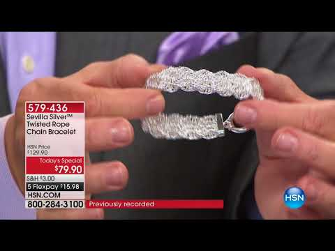 HSN | Sevilla Silver Jewelry 01.18.2018 - 06 AM
