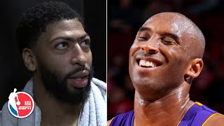 Anthony Davis is moved by 'Kobe-Bryant!' chants and Lakers' fans in Sacramento | NBA Sound