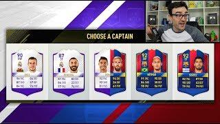 Messi vs ronaldo fut draft!!!