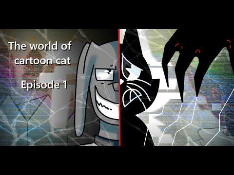 Cartoon Cat Ep.1 [FULL ANIMATION ] The birth of evil Cartoon Cat