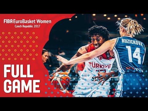 Turkey v Slovak Republic - Full Game - Classification 5-8 - FIBA EuroBasket Women 2017