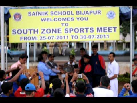 Sainik School, Bijapur-South Zone July2011- Basket Ball Trophy-Amaravathinagar.avi