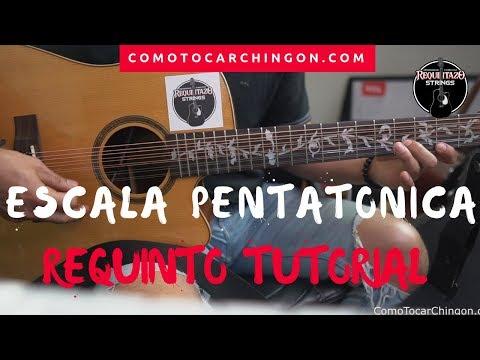 Adorno Con Escala Pentatonica Para Corridos | Requinto | Guitarra Tutorial