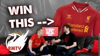 Win Liverpool's New 2013/14 Home Kit!