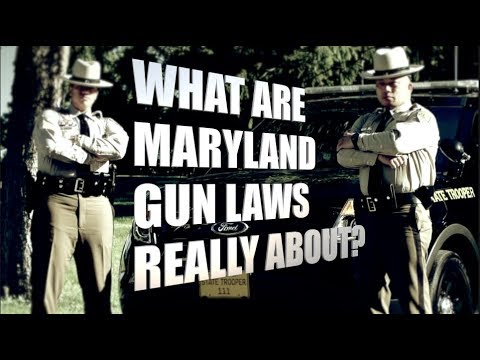 What are Maryland's gun laws really about?