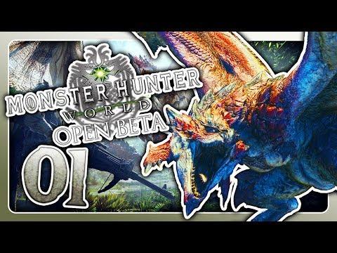 Die JAGD beginnt! 🐲 #01 • Let's Play Monster Hunter World Beta