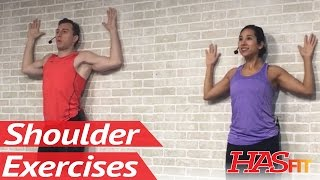 20 Min Shoulder Stretching & Strengthening for Pain Relief - Shoulder Pain Exercises Stretches