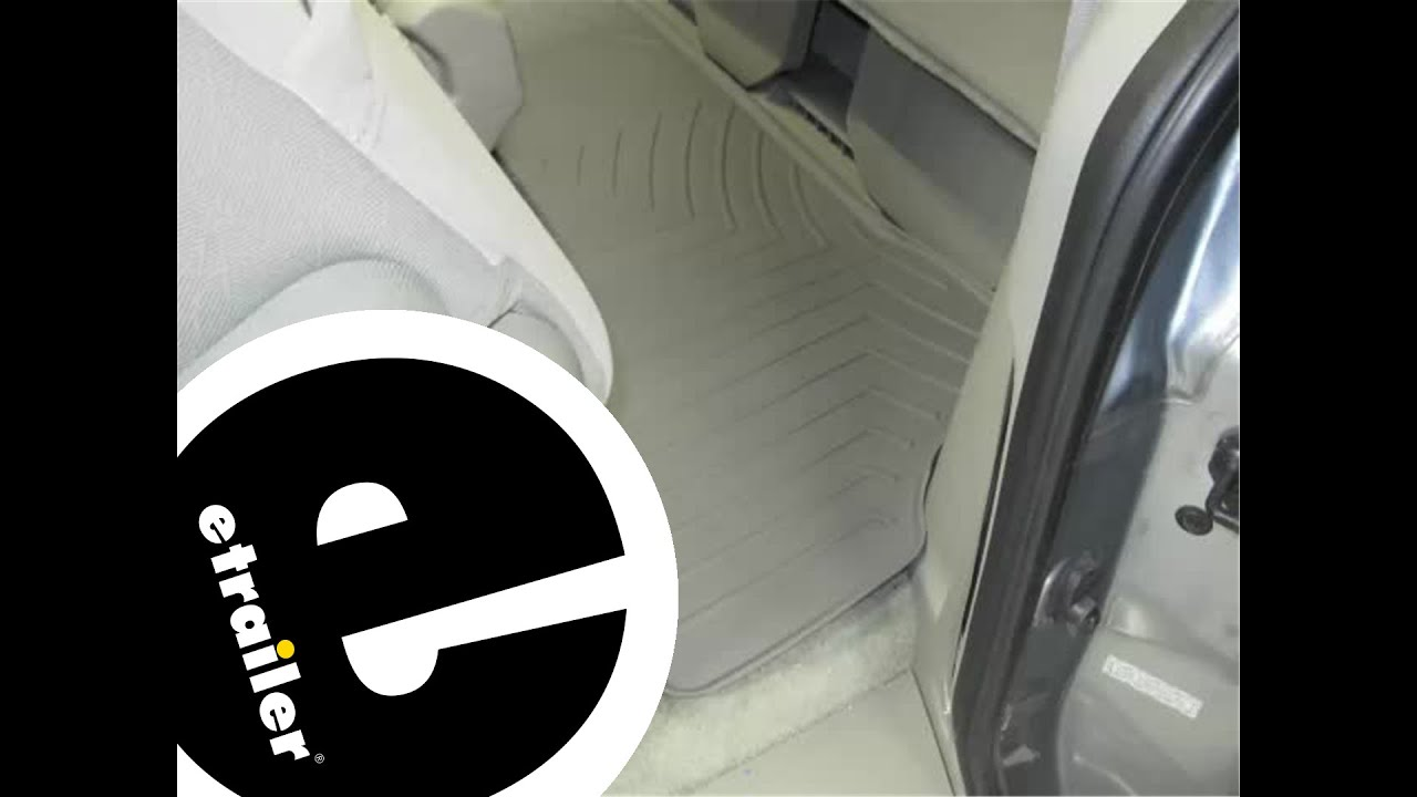 Review of the weathertech third row floor liner on a 2009 honda odyssey etrailer com