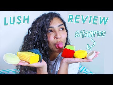 I tried solid beauty products 🥑 LUSH review