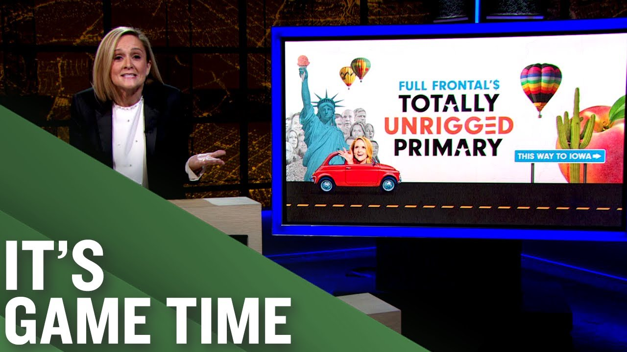 Full Frontal'$ Totally Unrigged Primary Game is HERE! | Full Frontal on TBS