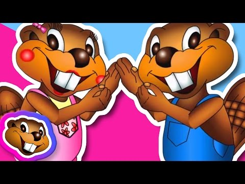 The Busy Beaver Song - Fun Kids Music