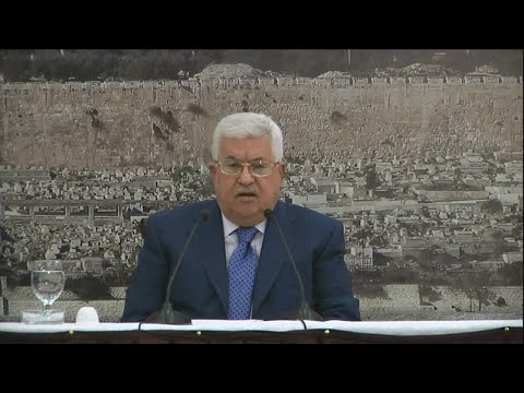 "Mahmoud Abbas: ""This is one of the most violent days our people have been trough"""