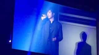 2015/02/19 幕張コンサート キム・ヒョンジュン 「僕が生きているのは」