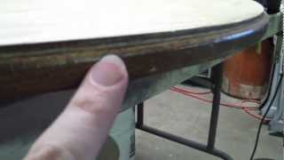 Diy Old Table Refinishing Idiots Guide To Woodworking Pt 2