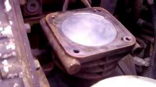 Ремонт компрессор САТ-15 PETERBILT-387