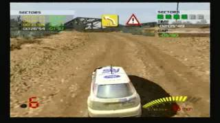 V-Rally 3 PS2 Gameplay part 2
