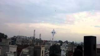 On Basant Panchmi every year kite lovers make a war zone in the sky...