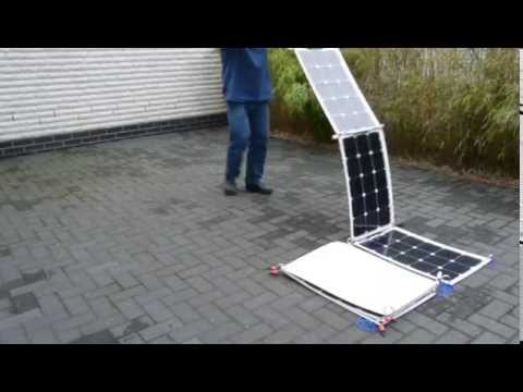 Worlds first 370-Watt portable Antarctic solar power unit