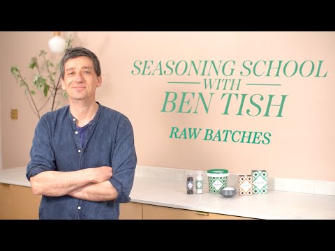 Perfectly season pre-made batch mixes - Episode 10 - Seasoning School with Ben Tish