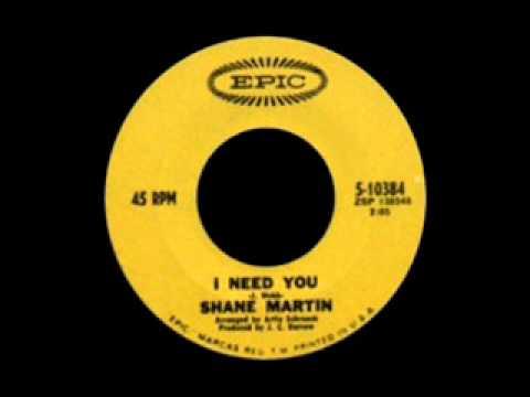 Shane Martin - I Need You