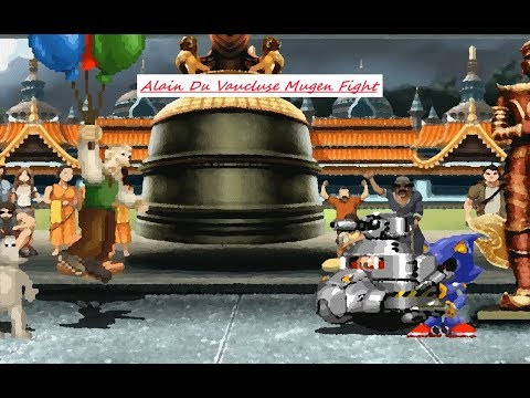 Mugen : Wallace & Gromit Vs Dr.Eggman & Metal Sonic (Two Battle) (Request)