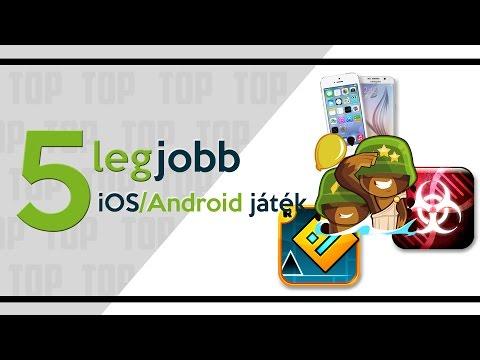 [TOP 5] LEGJOBB IPHONE/ANDROID JÁTÉKOK ■MAGYAR TOP 5■ Az 5 legnépszerűbb mobiltelefonos játék