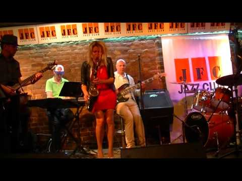 "Helena Danik and ""WEEKEND BAND"" live at JFC jazz club, St.Petersburg, Fri, August 5th, 2016  part 3"
