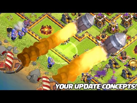 Thumbnail: 7 Clash of Clans UPDATE Concepts that will NEVER be Added!