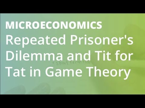 Repeated Prisoner's Dilemma and Tit for Tat in Game Theory | Microeconomics