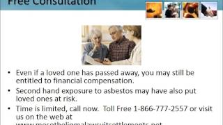 Mesothelioma Lawyer Stratford New Jersey 1-866-777-2557 Asbestos Lawsuit NJ Lung Cancer Attorneys