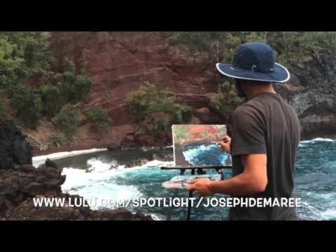 Hawaiian Landscapes, Oil Paintings En Plein Air, by Joseph Demaree