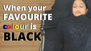 When Your Fav. Colour is BLACK | Captain Nick