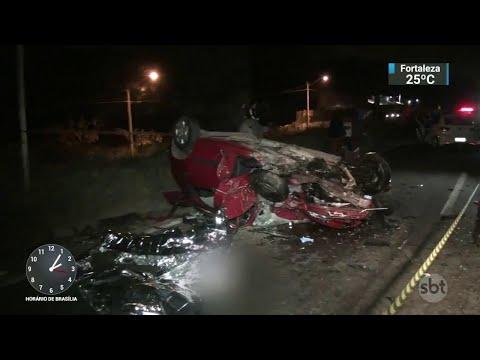 Sete pessoas morrem em acidente na Grande São Paulo   SBT Notícias (10/07/18)