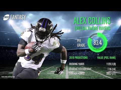 Jay Ajayi vs Alex Collins Fantasy Comparision