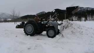 Homemade Ford Tractor Front End Loader