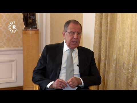 Russian FM Sergey Lavrov speaks to Rudaw on referendum, Russian-Kurdish relations, Syria, US