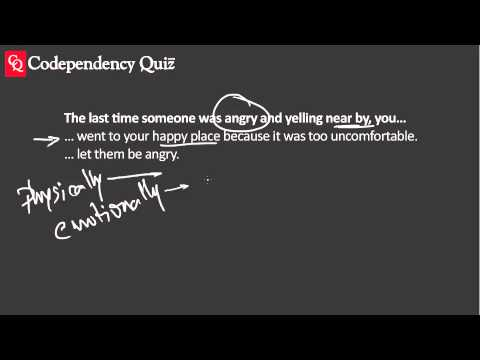 Codependency Quiz—Afraid Of Other's Anger