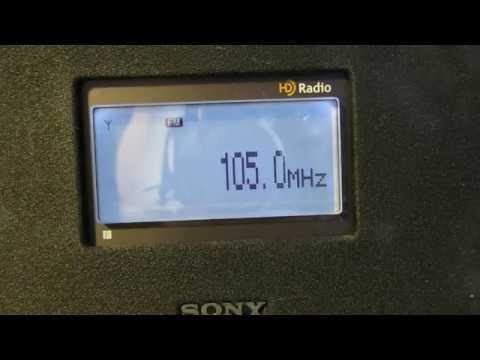 105,0 Национальное радио Чувашии (Цивильск) и 105,7 Радио Дача (Чебоксары)