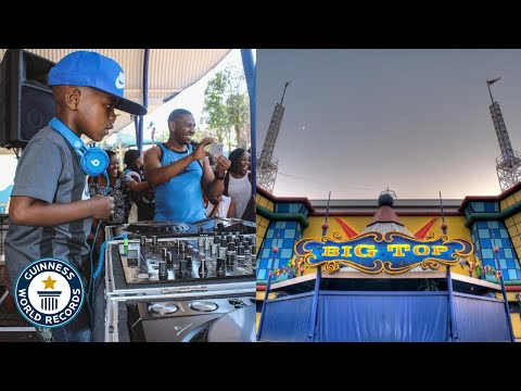 DJ ARCH JNR KILLING HIS SET AT CARNIVAL CITY (DJAY PRO) Worlds Youngest DJ