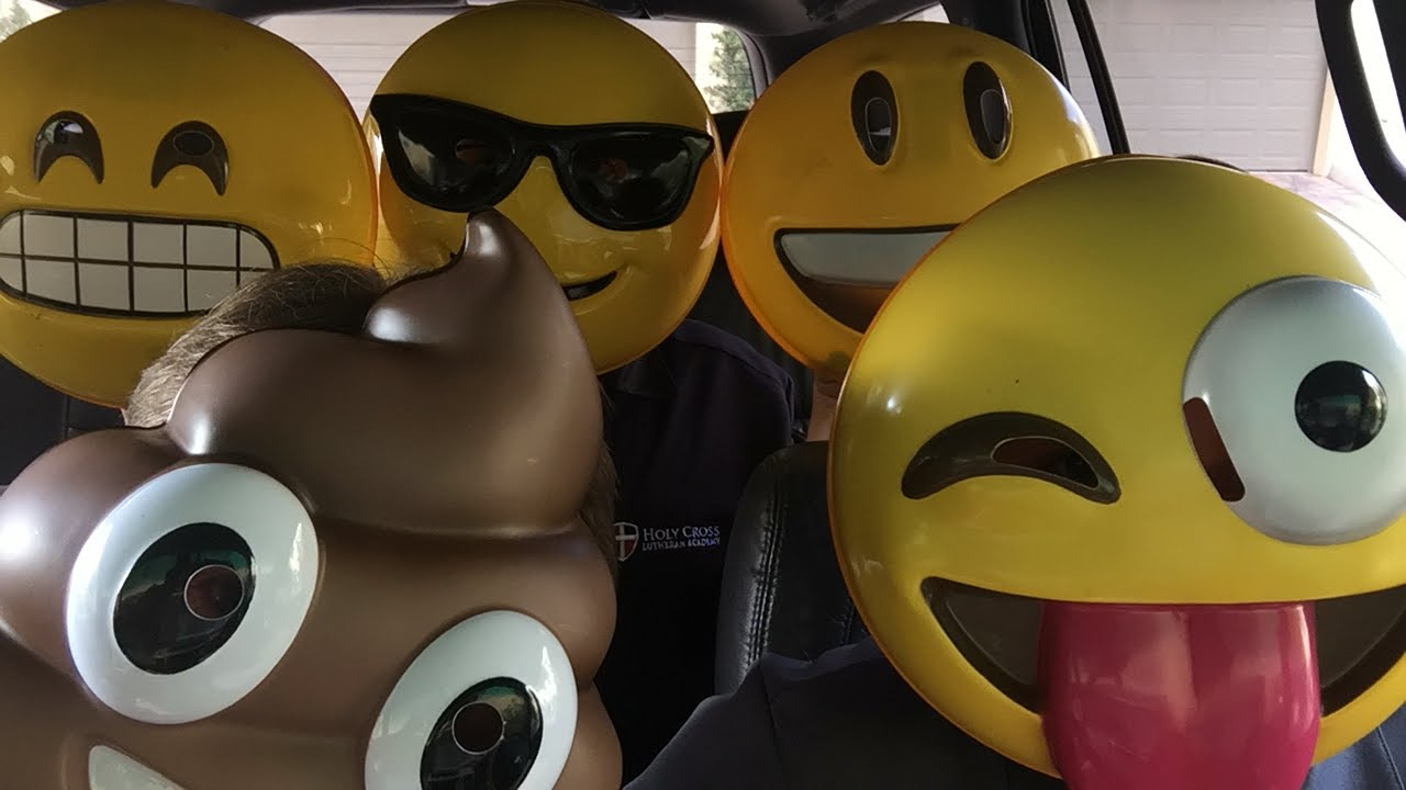 Emoji Carpool Karaoke