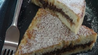 How To Make Nutella French Toast