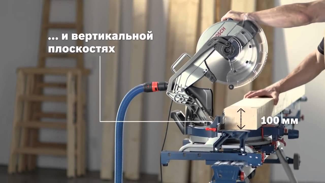 Торцовочная пила Bosch GCM 12