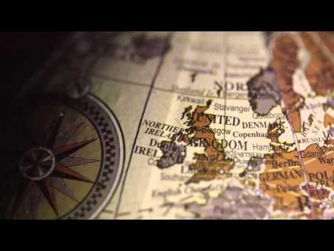 Vintage Globe Europe