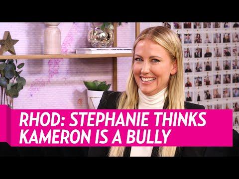 Stephanie Hollman Thinks Kameron Westcott is a Bully