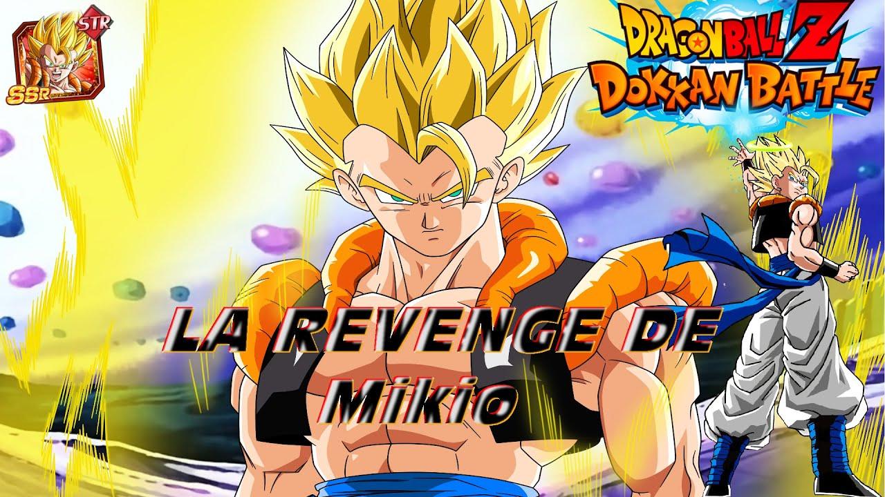 La Revenge De Mikio Dragon Ball Z Dokkan Battle 4 Multi