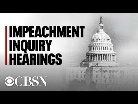 Trump Impeachment Hearings Live: Public Testimony From Fiona Hill And David Holmes