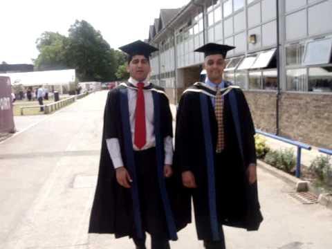 Saleem Graduation 2010 Oxford brookes university towards exit Door ...