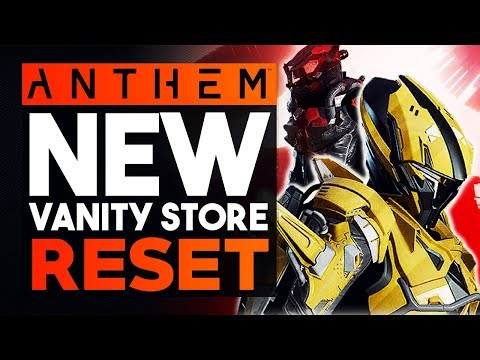 ANTHEM | NEW STORE UPDATE - Interceptor & Storm Armor Sets, Animations & Decals Showcase